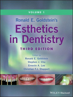 cover image of Ronald E. Goldstein's Esthetics in Dentistry