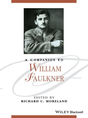 cover image of A Companion to William Faulkner