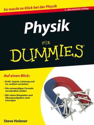 cover image of Physik für Dummies