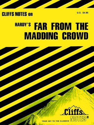 cover image of CliffsNotes on Hardy's Far From the Madding Crowd