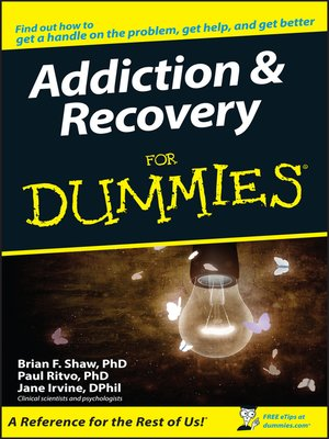 cover image of Addiction and Recovery For Dummies