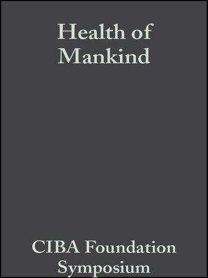 cover image of Health of Mankind
