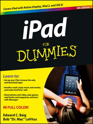 cover image of iPad For Dummies