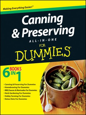 cover image of Canning and Preserving All-in-One For Dummies