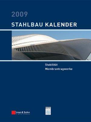 cover image of Stahlbau-Kalender 2009