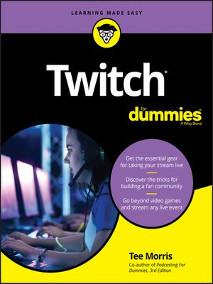 cover image of Twitch For Dummies