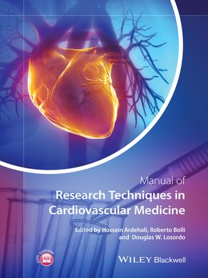 manual of research techniques in cardiovascular medicine pdf