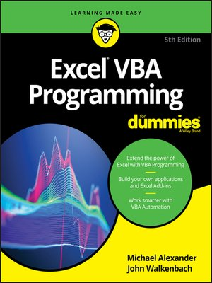 cover image of Excel VBA Programming For Dummies