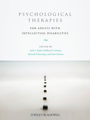 cover image of Psychological Therapies for Adults with Intellectual Disabilities