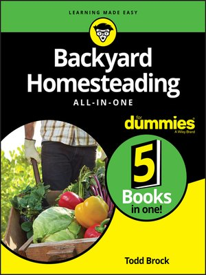 cover image of Backyard Homesteading All-in-One For Dummies