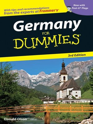 cover image of Germany For Dummies