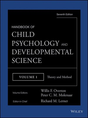cover image of Handbook of Child Psychology and Developmental Science, Theory and Method