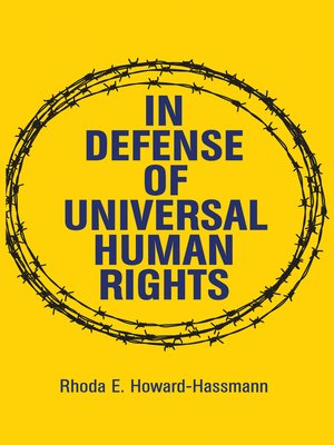 cover image of In Defense of Universal Human Rights