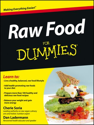 cover image of Raw Food For Dummies