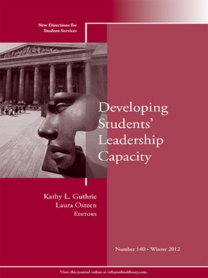 cover image of Developing Students' Leadership Capacity