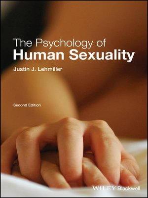 Psychology of human sexuality lehmiller pdf