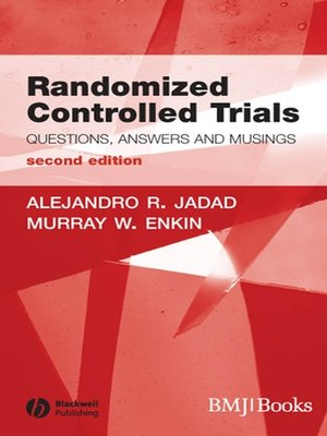 cover image of Randomized Controlled Trials