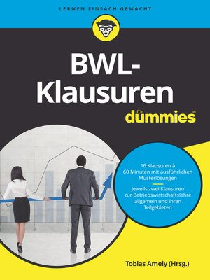 cover image of BWL-Klausuren für Dummies