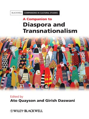 cover image of A Companion to Diaspora and Transnationalism