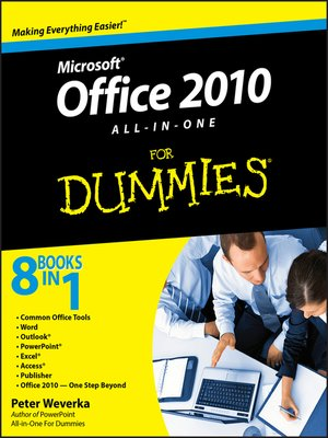 cover image of Office 2010 All-in-One For Dummies