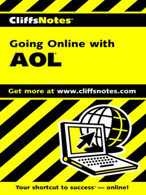 cover image of CliffsNotes Going Online with AOL