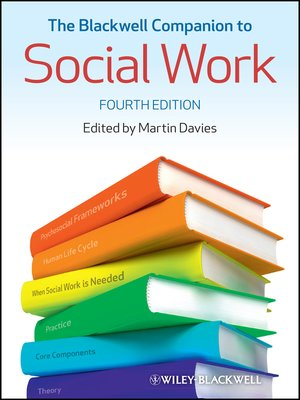 cover image of The Blackwell Companion to Social Work