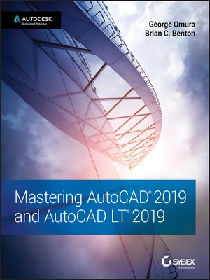 cover image of Mastering AutoCAD 2019 and AutoCAD LT 2019