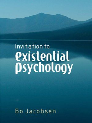 cover image of Invitation to Existential Psychology