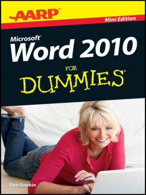 cover image of AARP Word 2010 For Dummies