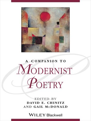 cover image of A Companion to Modernist Poetry