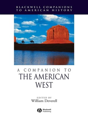 cover image of A Companion to the American West