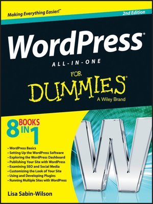cover image of WordPress All-in-One For Dummies