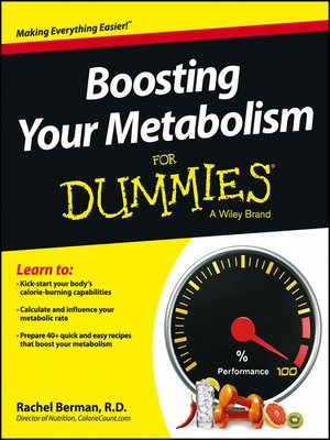 cover image of Boosting Your Metabolism For Dummies