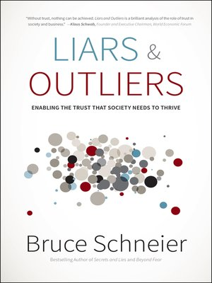 cover image of Liars and Outliers