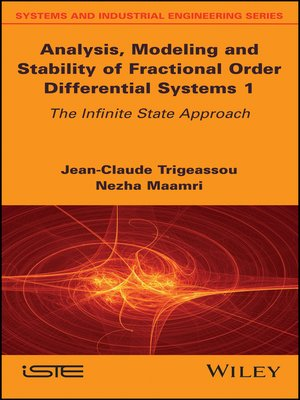 cover image of Analysis, Modeling and Stability of Fractional Order Differential Systems 1