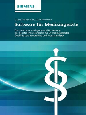 cover image of Software für Medizingeräte