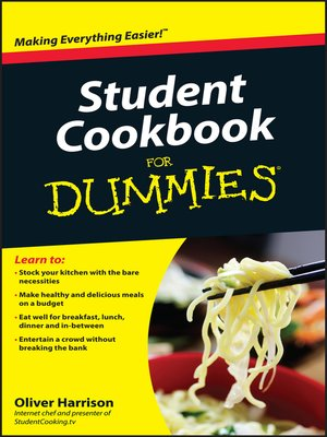 cover image of Student Cookbook For Dummies
