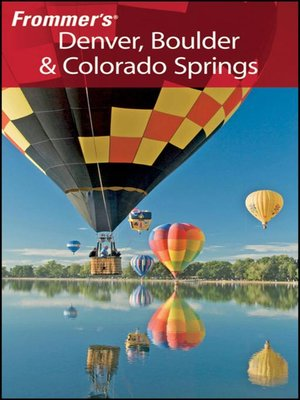 cover image of Frommer's Denver, Boulder & Colorado Springs