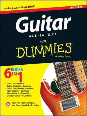 cover image of Guitar All-In-One For Dummies