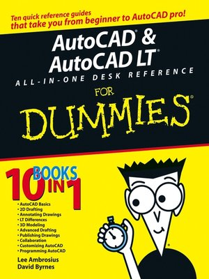 cover image of AutoCAD& AutoCAD LTAll-in-One Desk Reference For Dummies