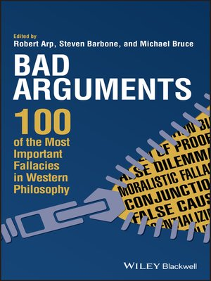 cover image of Bad Arguments