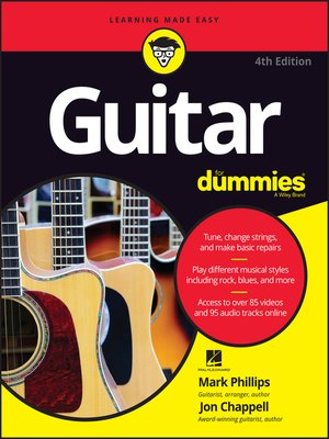 cover image of Guitar For Dummies