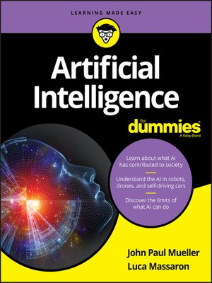 cover image of Artificial Intelligence For Dummies