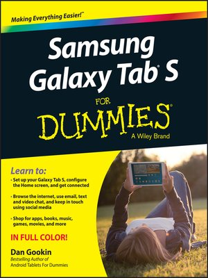 cover image of Samsung Galaxy Tab S For Dummies