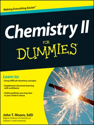 cover image of Chemistry II For Dummies