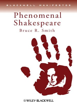 cover image of Phenomenal Shakespeare