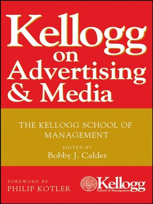 cover image of Kellogg on Advertising and Media