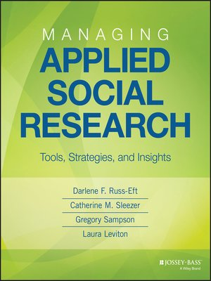 cover image of Managing Applied Social Research
