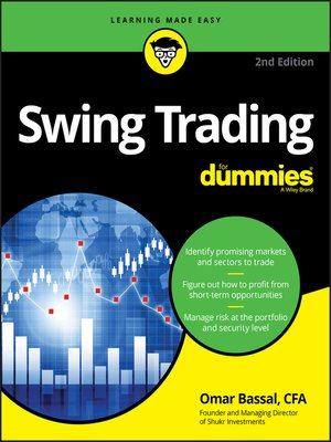 cover image of Swing Trading For Dummies