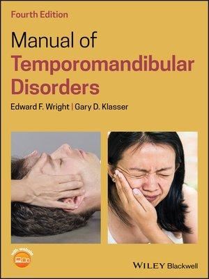 cover image of Manual of Temporomandibular Disorders